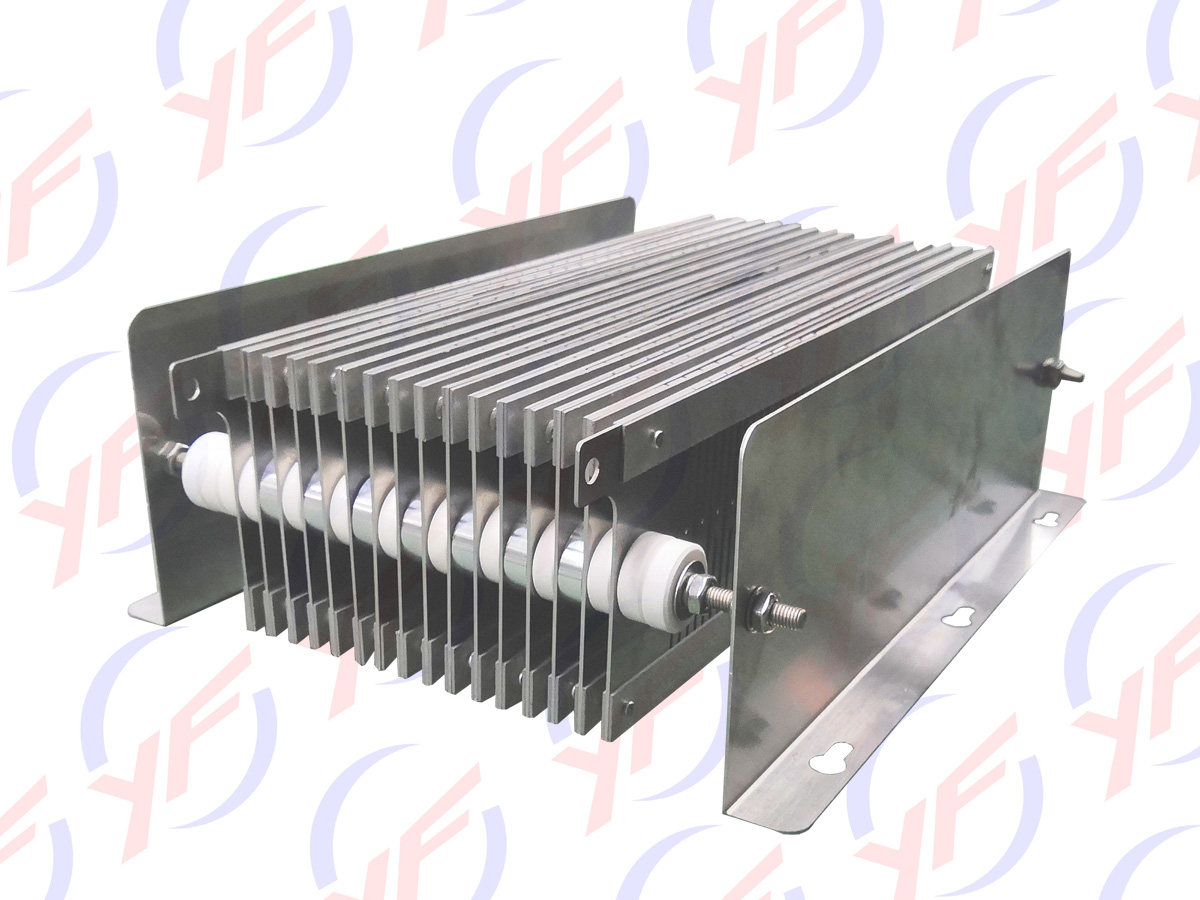 Metal Plates resistors for wind power system