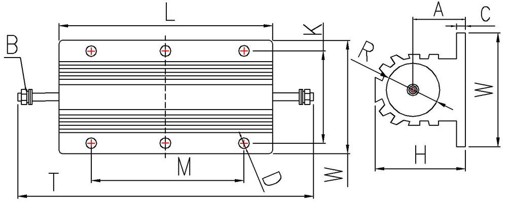 RX24-100W-Wire