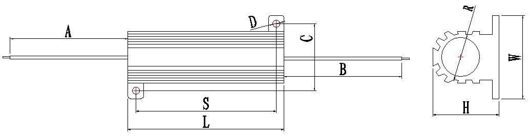 RX24-50W-Dimension