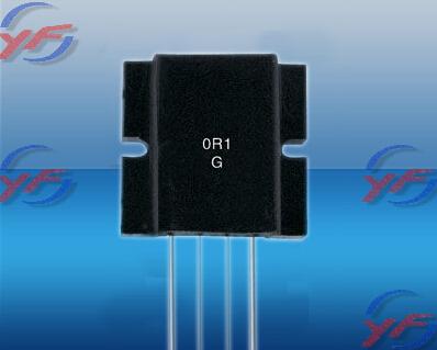 低阻值无感金属片电阻