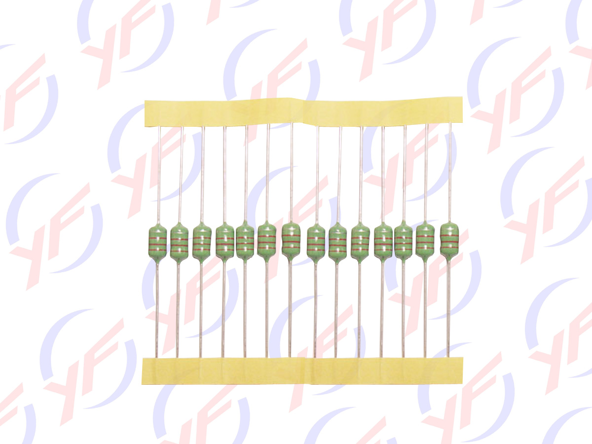 色环插件绕线电感